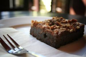 Walnut brownie Dana Lipárová