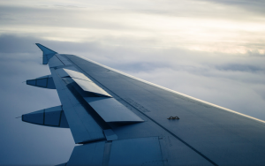 Asher Isbrucker obligatory airplane wing. YYZ > YVR CC BY-NC-SA 2.0